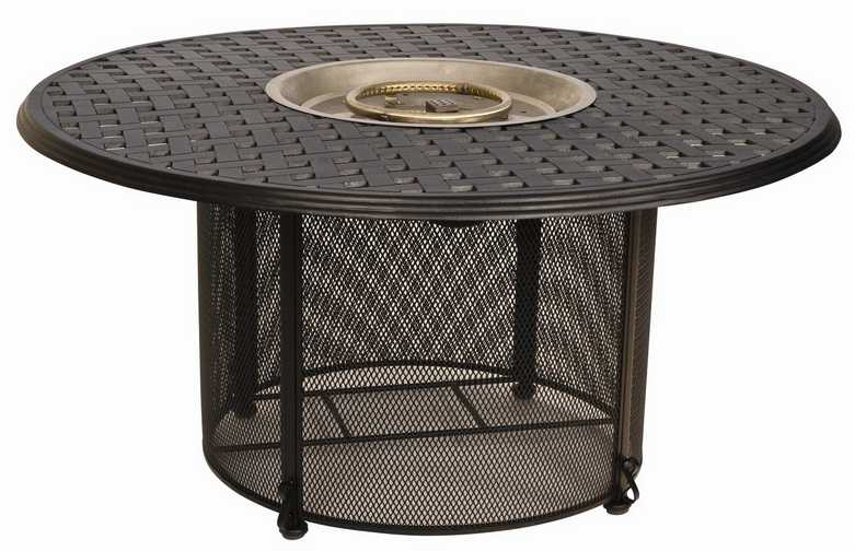 Wrought Iron Universal Round Fire Pit