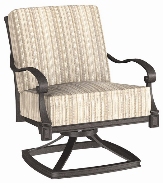 Wiltshire Aluminum Rocking Lounge Chair