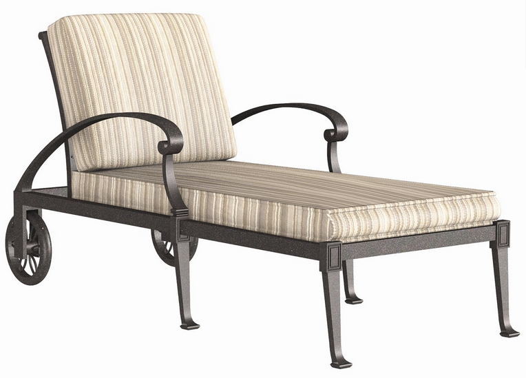 Wiltshire Aluminum Adjustable Chaise Lounge – Stackable