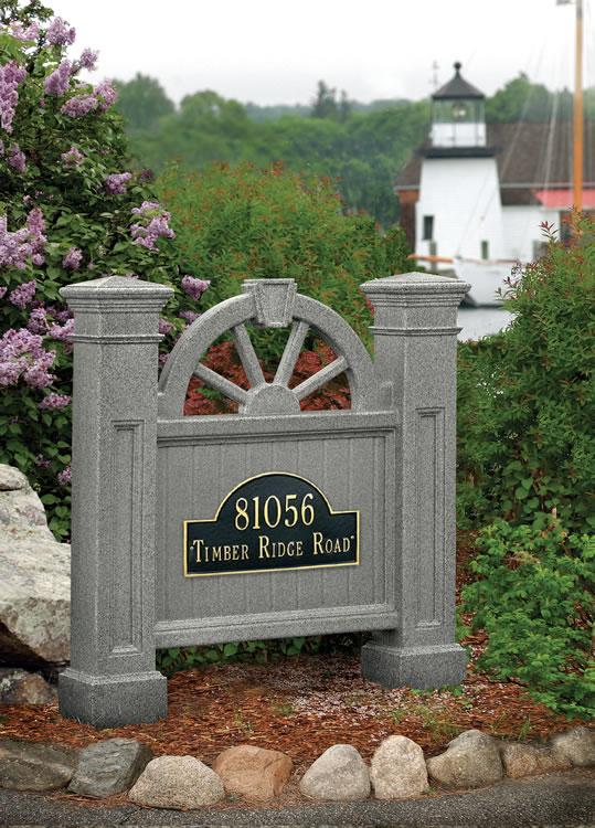Maynw Winchester Address Sign