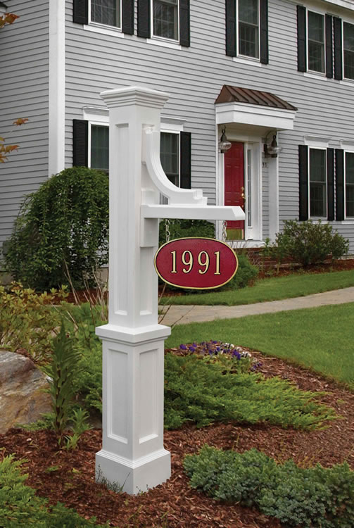 Woodhaven Address Sign