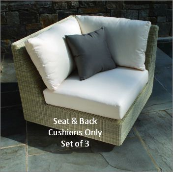 Kingsley-Bate Westpport Sectional Corner Chair Seat & Back Cushions