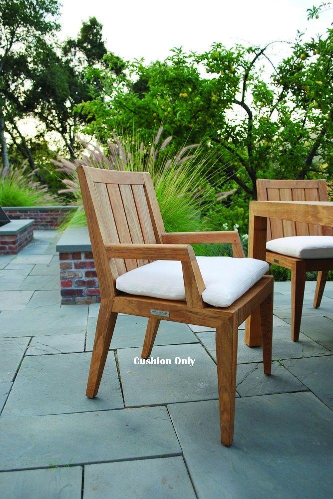 Kingsley-Bate Mendocino Dining Armchair Seat Cushion