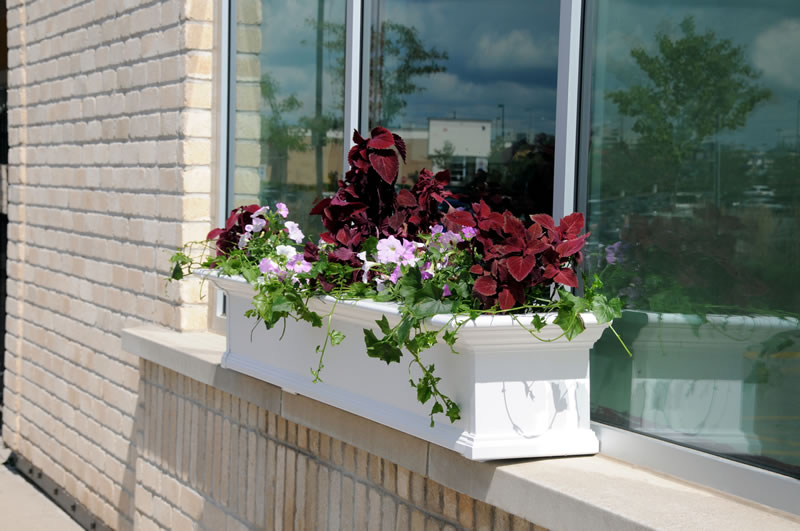 Yorkshire Window Box 7FT White