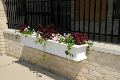 Yorkshire Window Box 8FT White