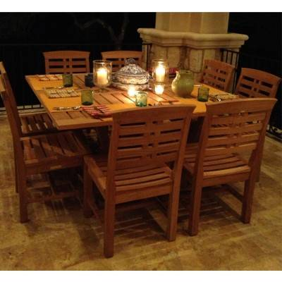 Mandalay Teak Dining Collection
