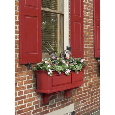 Nantucket Window Box Red 3ft