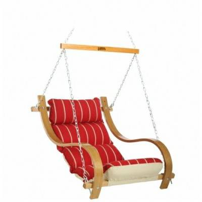 Single Swing with Oak Arms