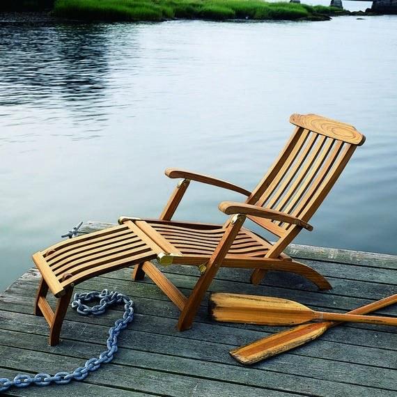 Currey And Company Vintner: Kingsley Bate Steamer Teak Chair