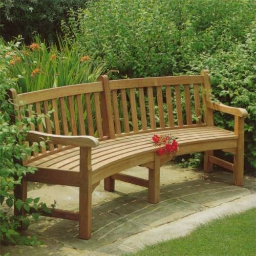 Cool Barlow Tyrie Glenham Teak Curved Seat 9 Radius Evergreenethics Interior Chair Design Evergreenethicsorg