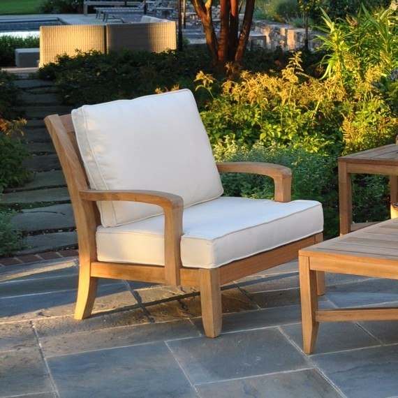Kingsley Bate Somerset Teak Deep Seating Lounge Chair