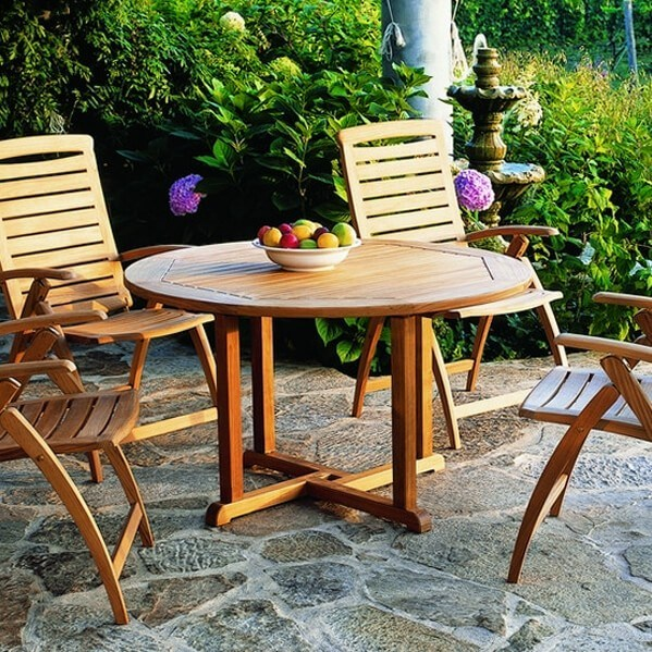 teak garden furniture essex kingsley bate essex teak dining table 42 - Garden Furniture Essex