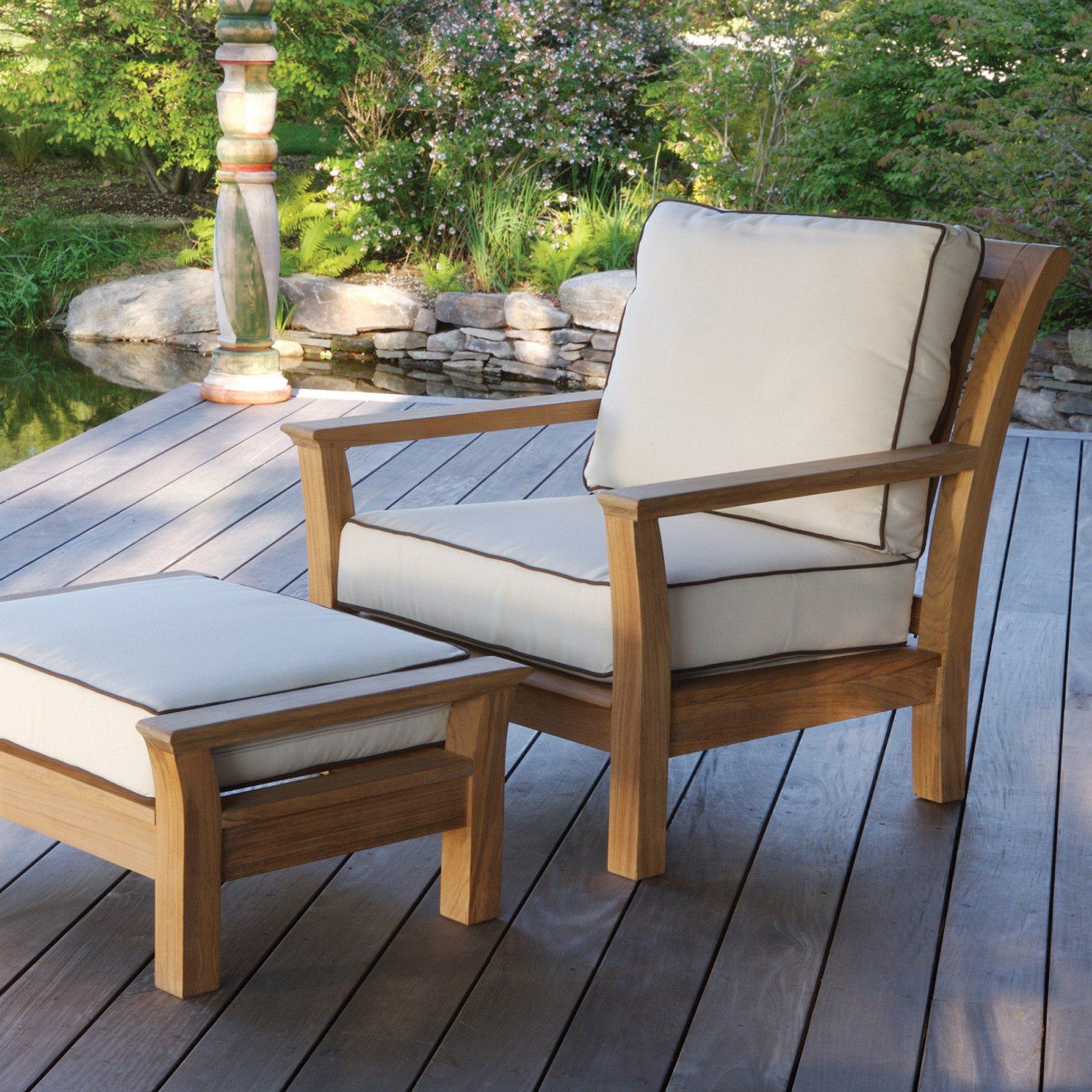 Fabulous Kingsley Bate Chelsea Teak Deep Seating Lounge Chair Pdpeps Interior Chair Design Pdpepsorg