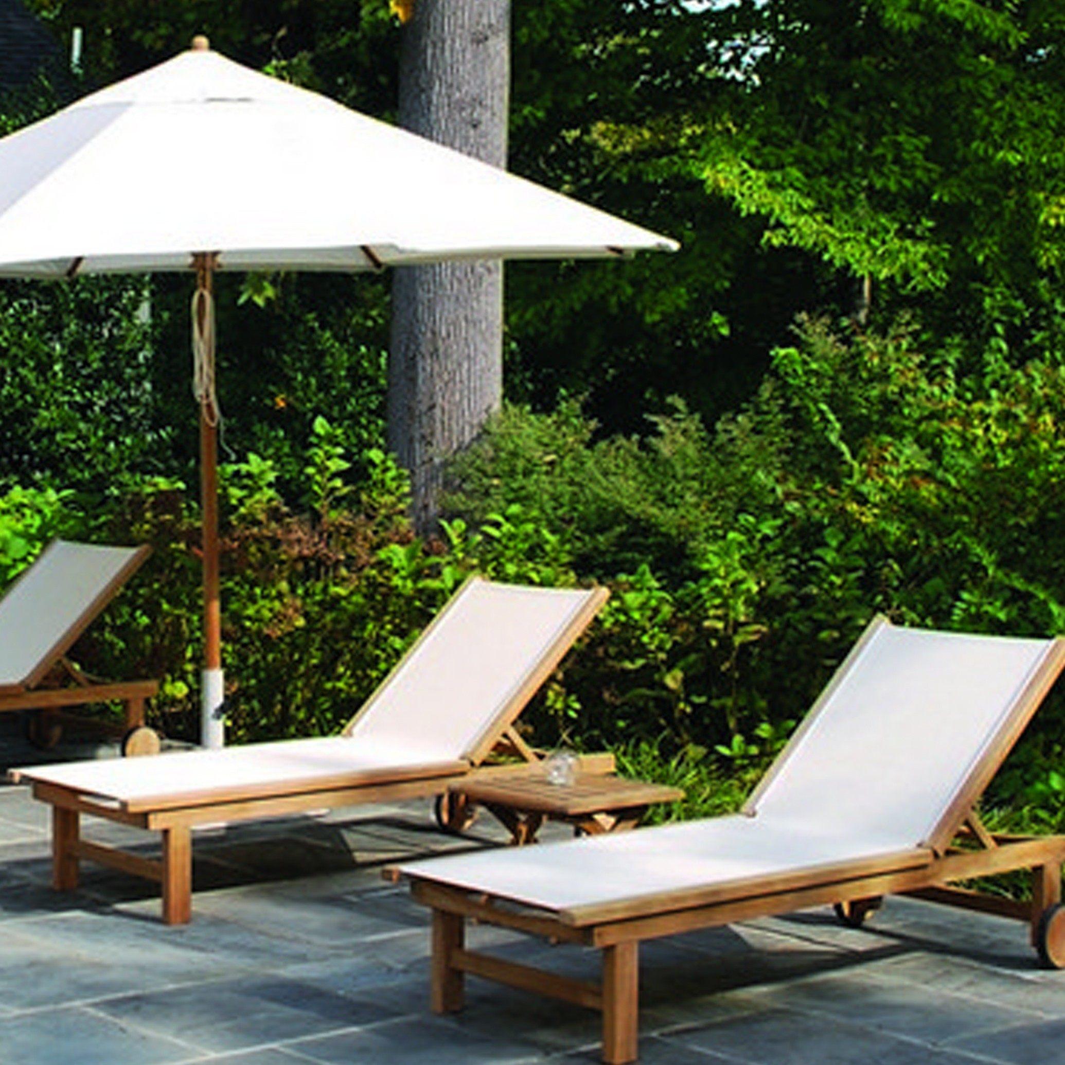 kingsley bate st tropez teak 8 piece chaise lounge ensemble. Black Bedroom Furniture Sets. Home Design Ideas
