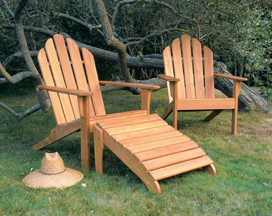 Kingsley Bate Adirondack Teak Chair