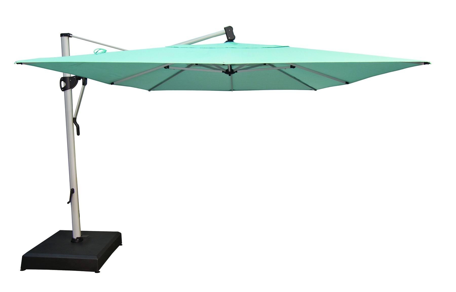 Treasure Garden 10 X13 Cantilever Rectangular Umbrella