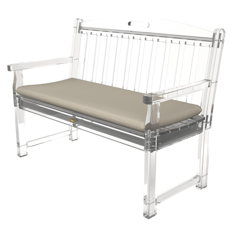 Trex outdoor furniture yacht club 48 bench seat cushion