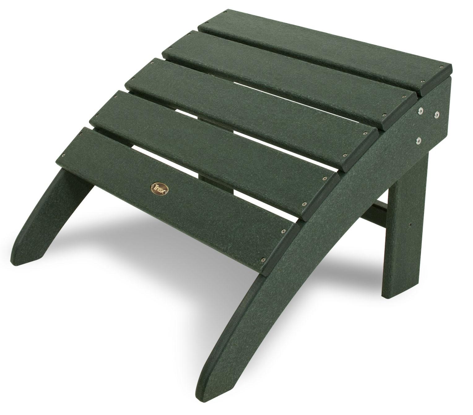 Trex 174 Outdoor Furniture Cape Cod Adirondack Ottoman