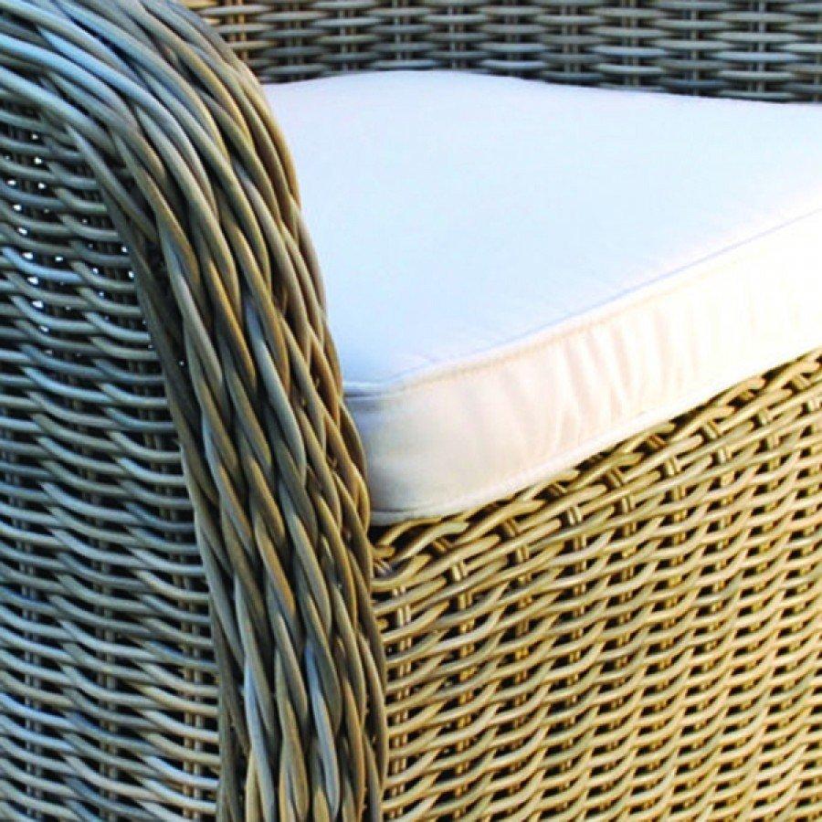 Kingsley Bate Sag Harbor Wicker Dining Armchair