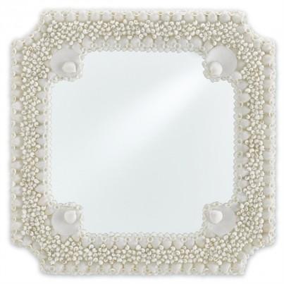 Currey & Company Theodora Square Mirror  by Currey & Company