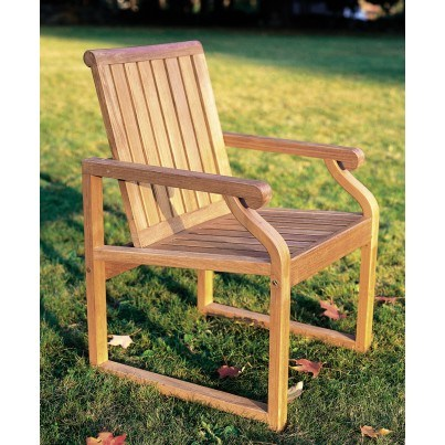 Kingsley Bate Nantucket Teak Dining Chair  by Kingsley Bate