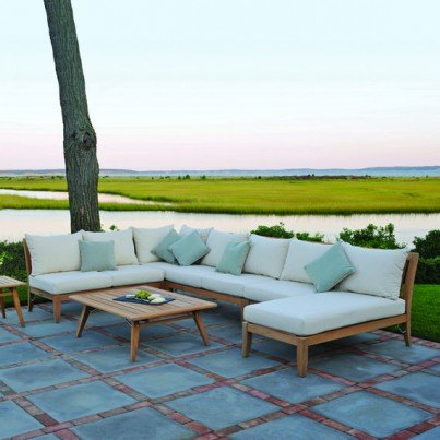 Kingsley Bate Ipanema Teak Deep Seating Collection - Build Your Own Ensemble  by Kingsley Bate