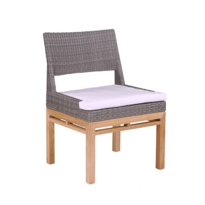 Kingsley Bate Azores Wicker Dining Side and Armchair Cushion  by Kingsley Bate