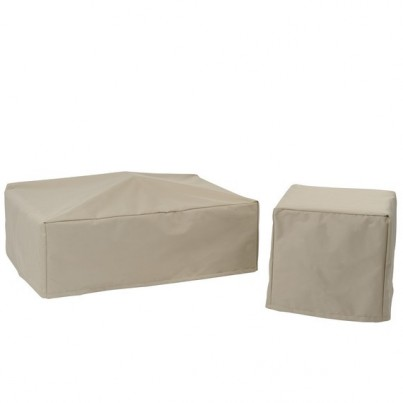 Kingsley Bate Cape Cod Square Side Table Cover  by Kingsley Bate