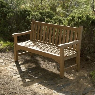 Barlow Tyrie Glenham Teak 5' Bench  by Barlow Tyrie