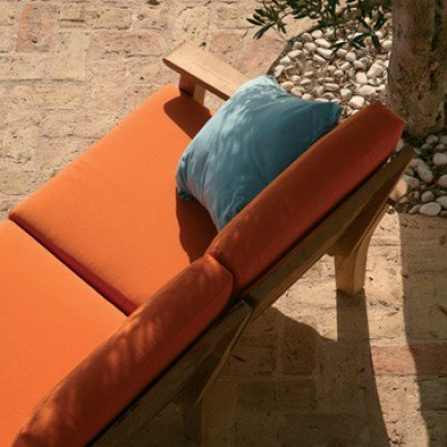 Barlow Tyrie Haven Teak Deep Seating Left Arm Facing Frame  by Barlow Tyrie