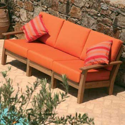 Barlow Tyrie Haven Teak Deep Seating Middle Module  by Barlow Tyrie