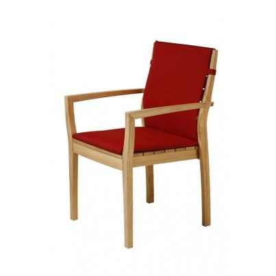 Barlow Tyrie Horizon Stacking Armchair Seat and Back Cushion  by Barlow Tyrie