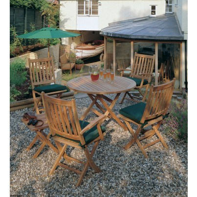 Barlow Tyrie Ascot Teak Dining Collection - Build Your Own Ensemble  by Barlow Tyrie