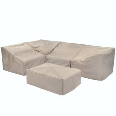 Kingsley Bate Sag Harbor Sectional Armless Chair Cover- Main Panel no sides  by Kingsley Bate