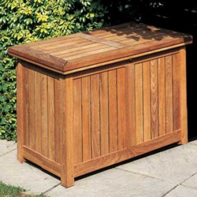 Barlow Tyrie Teak Large Storage Chest  by Barlow Tyrie