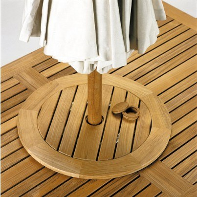 Kingsley Bate Teak Lazy Susan  by Kingsley Bate