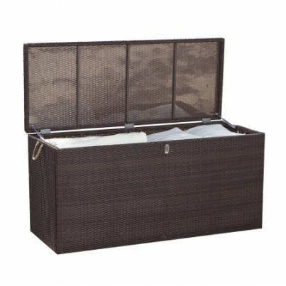 Source Outdoor Manhattan Wicker Cushion Storage   by Source Outdoor