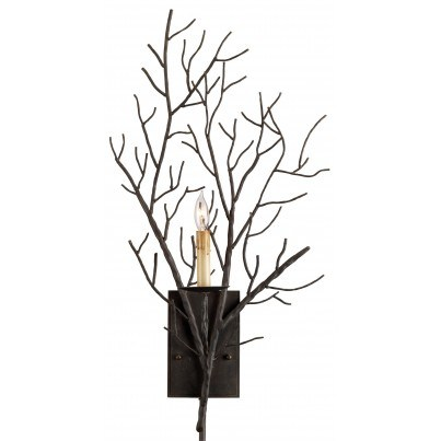 Currey & Company Midwinter Tree Branch Wall Sconce - Clearance  by Currey & Company