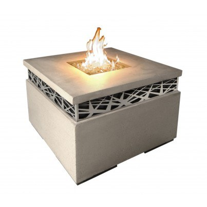 Nest Square Fire Pit Table  by CGProducts