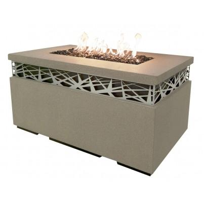 Nest Rectangular Fire Pit Table  by CGProducts