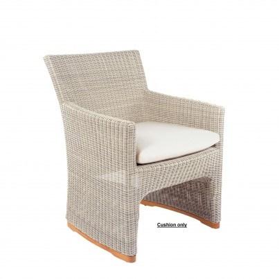 Kingsley Bate Westport Dining Armchair Seat Cushion  by Kingsley Bate