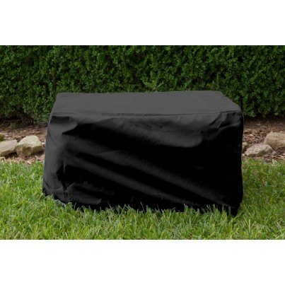 Ottoman/Small Table Cover - Black  by Koveroos