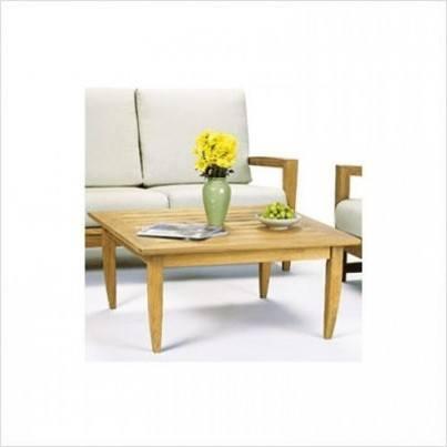"Kingsley Bate Amalfi Teak 40"" Square Coffee Table  by Kingsley Bate"