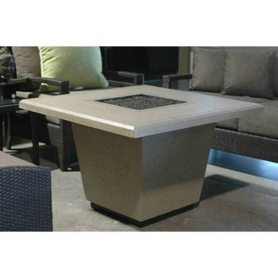 Cosmopolitan Square Fire Pit Table  by CGProducts