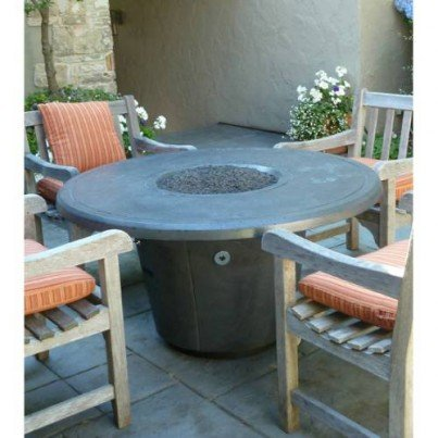 Cosmopolitan Round Fire Pit Table  by CGProducts