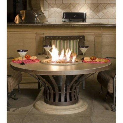 Fiesta Dining Fire Pit Table  by CGProducts