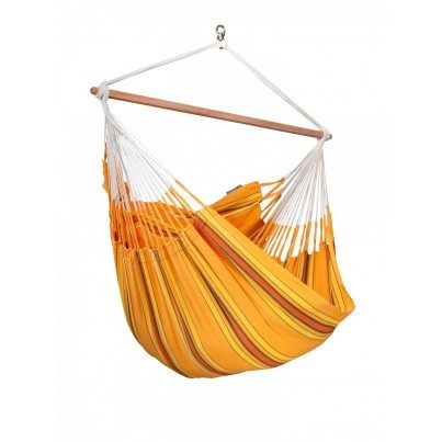 La Siesta Currambera Lounger Hammock Chair - Apricot  by La Siesta