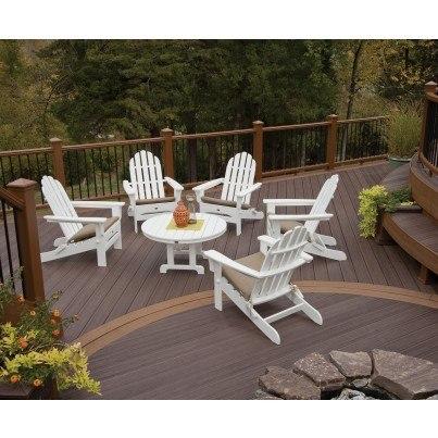 """Trex® Outdoor Furniture™ Cape Cod Round 36"""" Conversation Table  by Trex Outdoor Furniture"""