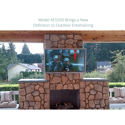 Apollo Outdoor Weatherproof TV Enclosures for 60