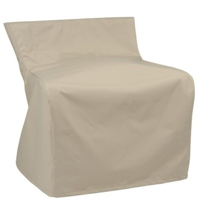 Kingsley Bate Naples Aluminum and Wicker Club Chair Cover  by Kingsley Bate
